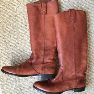 Madewell Archive Leather Boots 9.5
